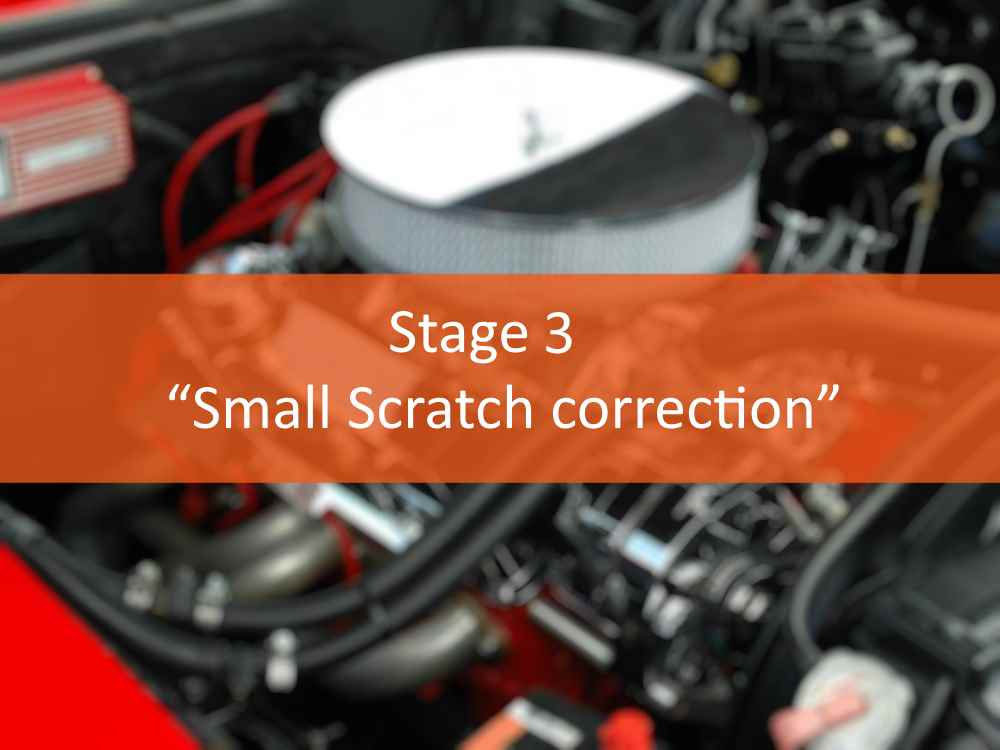 """Small Scratch correction"""