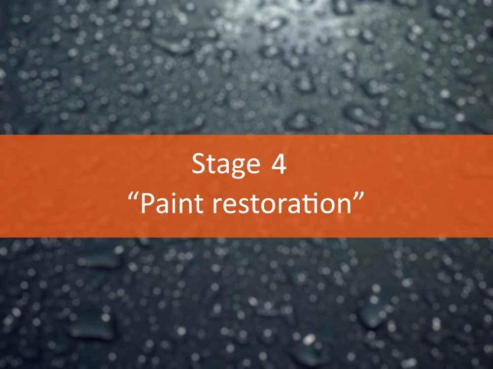 """""""Paint restoration"""""""